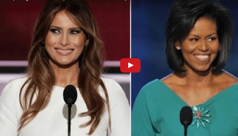 Ecco perché copiare non paga – Il discorso di Melania Trump