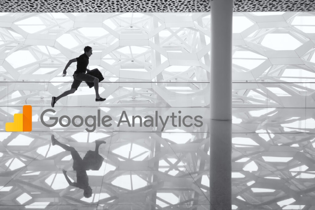 Google Analytics admin has gone